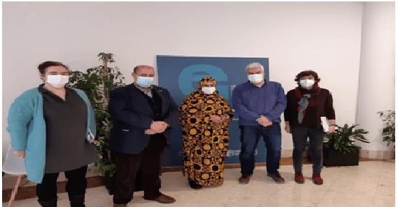 La ministra saharaui de Cooperación concluye visita de trabajo al País Vasco | Sahara Press Service