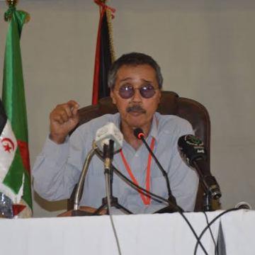 """Jatri Adduh: """"El desarrollo de la capacidad de la sociedad saharaui es una cuestión fundamental en la estrategia del Frente POLISARIO""""   Sahara Press Service"""