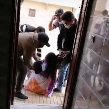 Las autoridades de ocupación marroquí intervienen de forma violenta contra la familia de Sultana Sidbrahim Jaya | Sahara Press Service