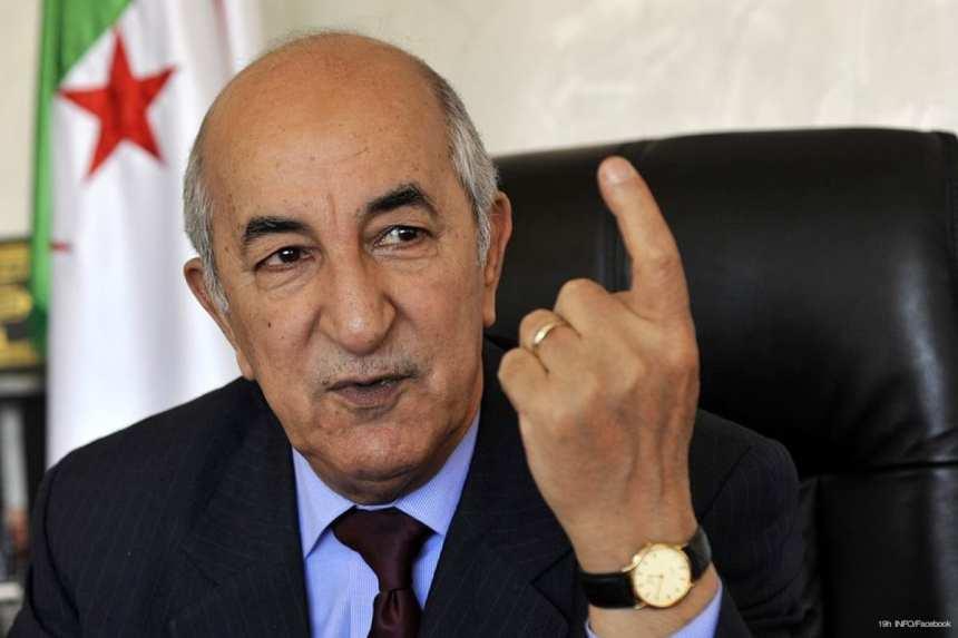 Presidente argelino: »El pueblo saharaui debe tener derecho a la autodeterminación y no hay otra solución.»