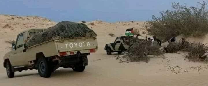 GUERRA EN EL SAHARA   Parte de guerra Nº119