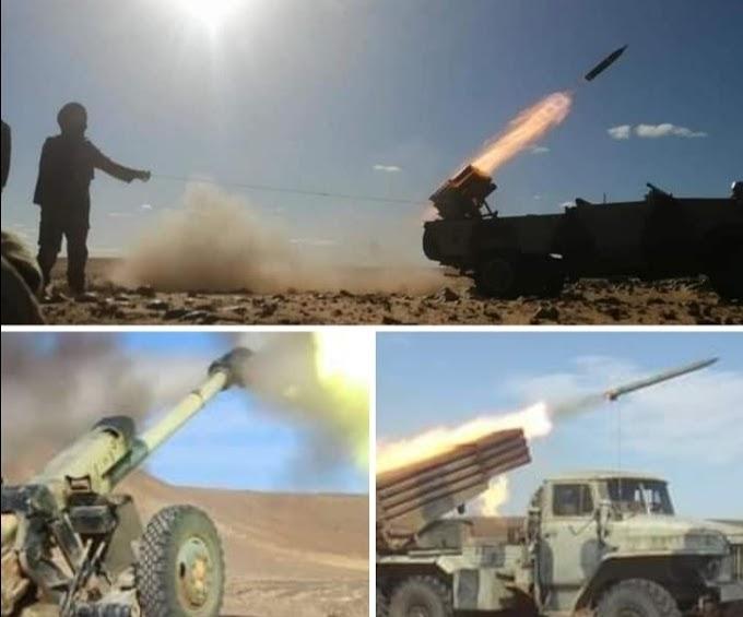 GUERRA EN EL SAHARA | Parte de Guerra Nº136
