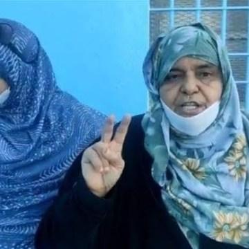 🔴 ÚLTIMA HORA | La policía marroquí detiene a la madre de Mohamed Lamin Haddi y a sus dos hermanos mientras protestaban frente a la cárcel donde se encuentra preso