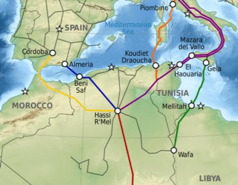 Argelia ha inaugurado un nuevo gasoducto en Beni Saf (Medgaz) capaz de suplir el fin del contrato Magreb-Europa