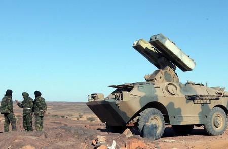 GUERRA EN EL SAHARA   Parte de guerra Nº138