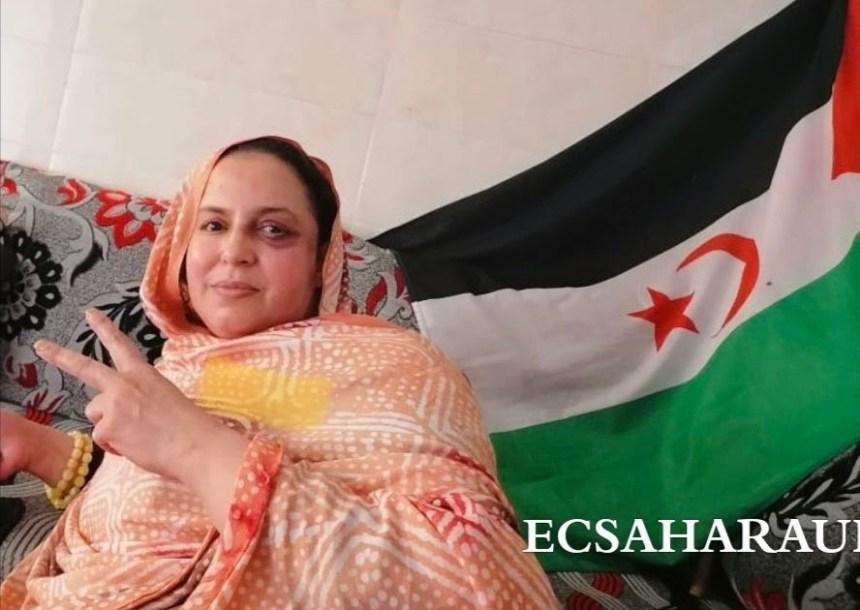 La casa de Sultana Jaya bajo asedio policial marroquí, el Ejército ha cercado la vivienda y ha cortado la luz