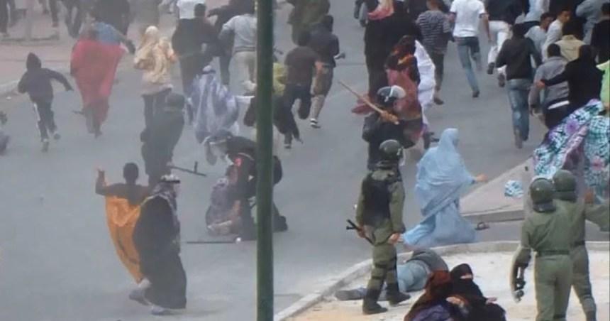 Marruecos usa la represión desproporcionada como instrumento para intimidar y crear consenso por la fuerza de la violencia