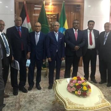 El Ministro de Exteriores saharaui se reúne en Addis Abeba con su homólogo etíope