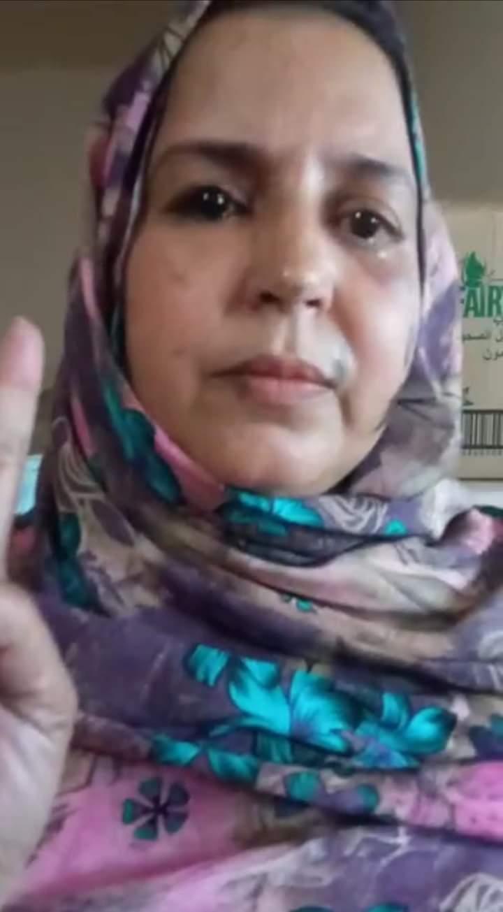 Nuevo ataque a la activista saharaui Sultana Jaya con sustancias químicas | Sahara Press Service