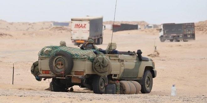 Marruecos concentra gran cantidad de tropas y material en el norte del Sáhara Occidental – #GuerraEnLaRASD