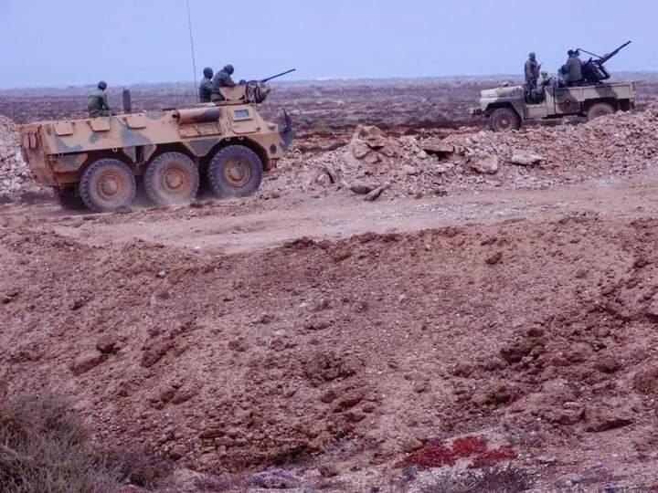 GUERRA EN EL SAHARA | El Ejército Saharaui inflige grandes pérdidas a Marruecos: destrucción de numerosas bases y puntos de observación militar