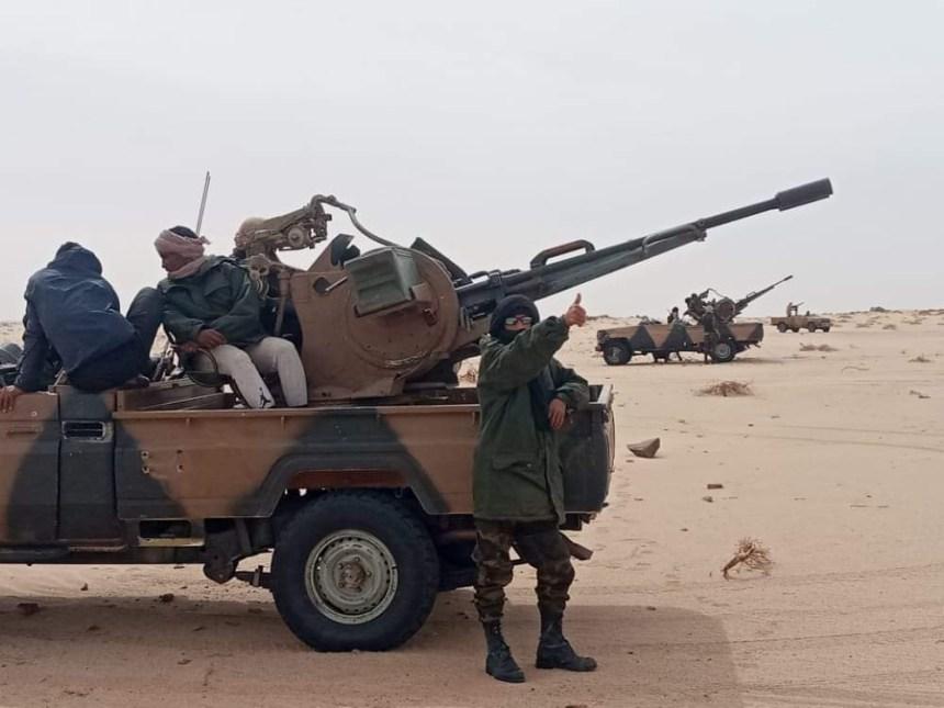 GUERRA EN EL SAHARA | Parte de guerra Nº159