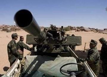 160 días de Guerra: El Ejército saharaui continúa bombardeando sin tregua posiciones del ejército marroquí a lo largo del muro