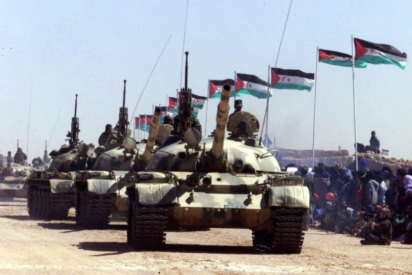 GUERRA EN EL SAHARA   Parte de guerra Nº163