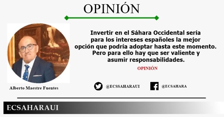 España vs. Sahara Occidental – «Un Estado sin miras al futuro |Por Alberto Maestre Fuentes»