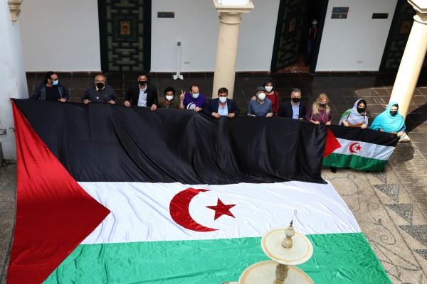 Diputación de Córdoba muestra su apoyo y adhesión a la 'Marcha por la libertad del pueblo saharaui' #MarchaSaharaui | Sahara Press Service