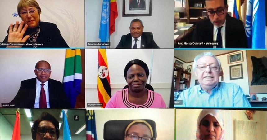 El grupo de Ginebra de Apoyo al Sáhara Occidental se reunió con Michelle Bachelet, Alta Comisionada de la ONU para los Derechos Humanos, para tratar la represión marroquí