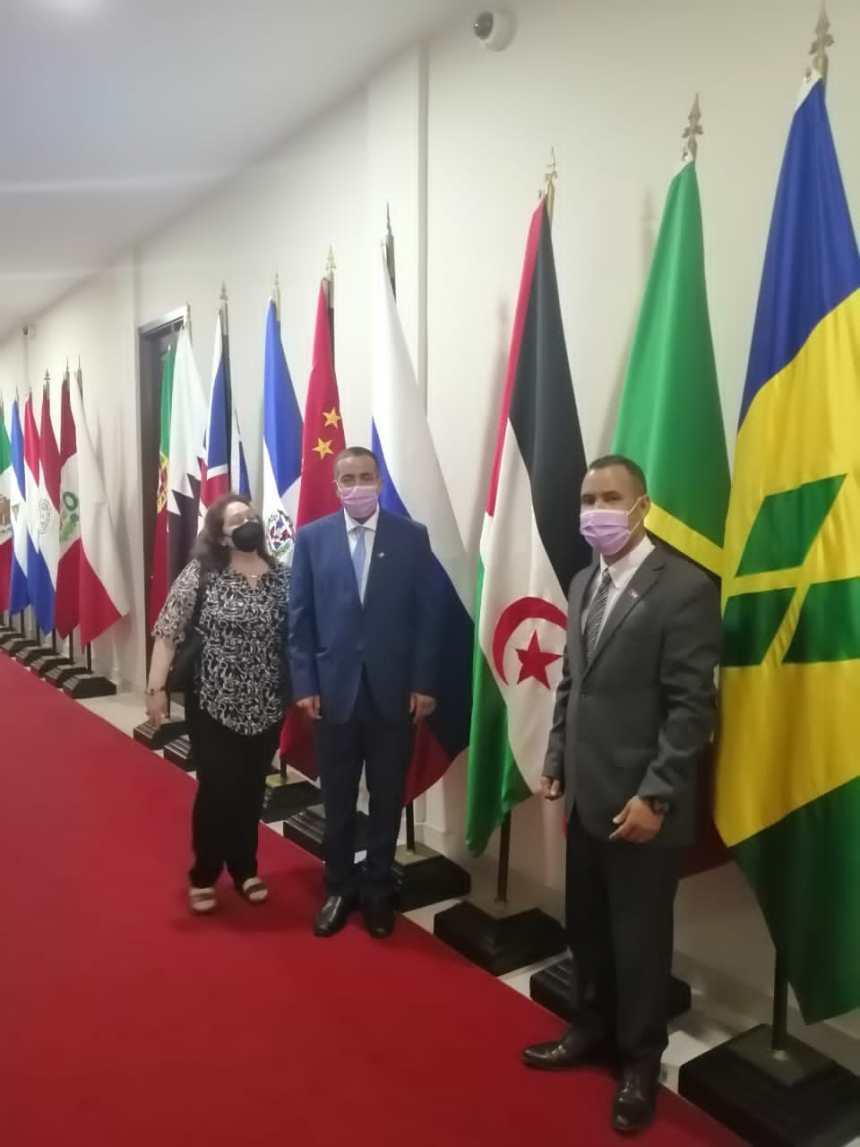 Recibe Viceministra de Exteriores panameña al Embajador de la RASD | Sahara Press Service