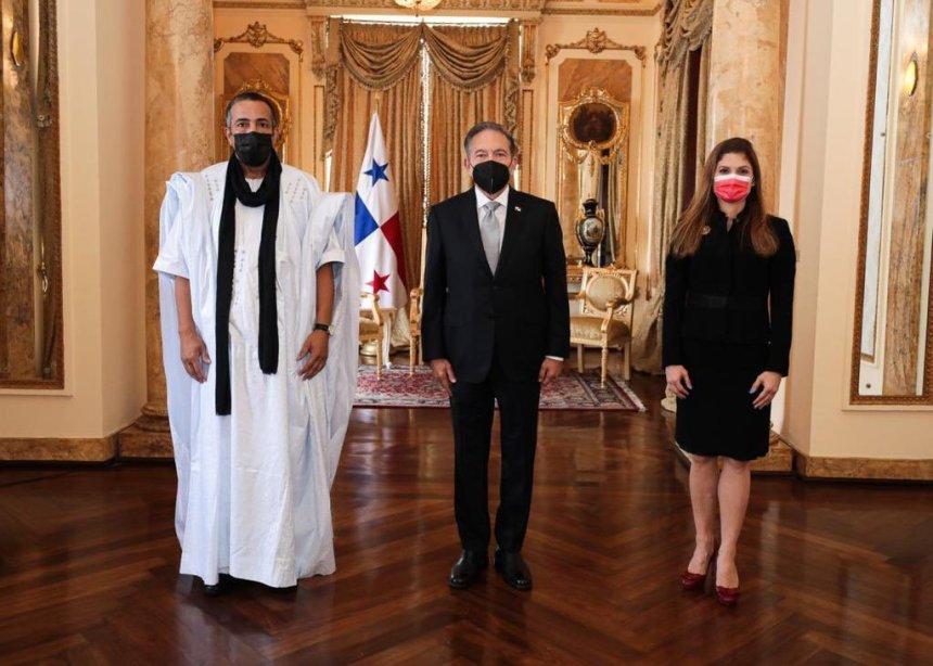 Presidente de Panamá recibe cartas credenciales del embajador de la República Saharaui | Sahara Press Service