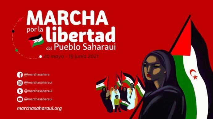 Una marcha recorrerá Navarra por la libertad del Pueblo Saharaui – #MarchaSaharaui