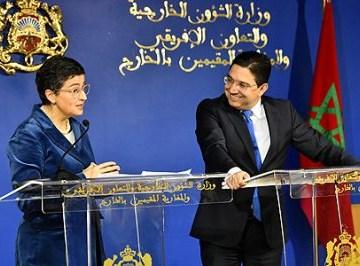 Marzo saharaui: para la ministra González Laya no existen los Derechos Humanos de los saharauis   Contramutis