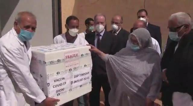 Comienza la vacunación contra el coronavirus en los campamentos de refugiados saharauis   Sahara Press Service