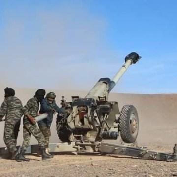 El Ejército Saharaui realiza una serie de bombardeos contra posiciones marroquíes