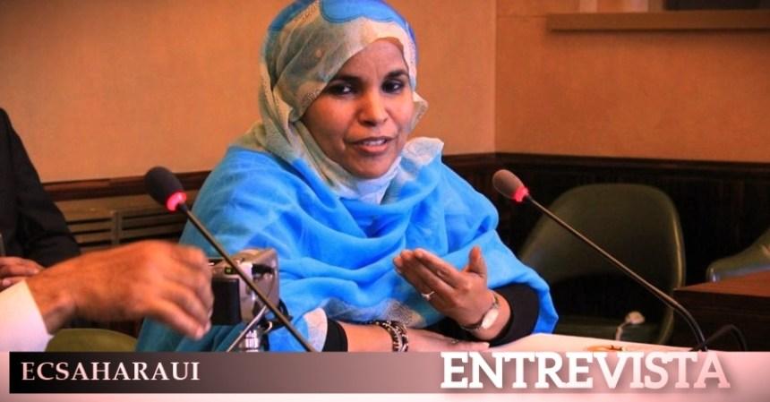 «Es decepcionante ver como la comunidad internacional quiere sacrificar al pueblo saharaui». Entrevista aMaima Mahmoud Abdeslam, Leila ZAIMI para ECS