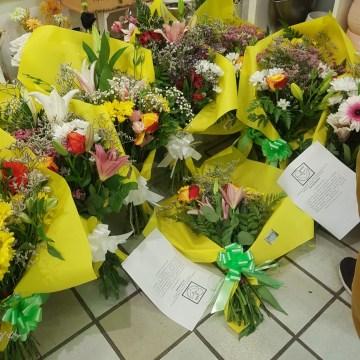 Primer día de la campaña #FloresParaBrahimGhali