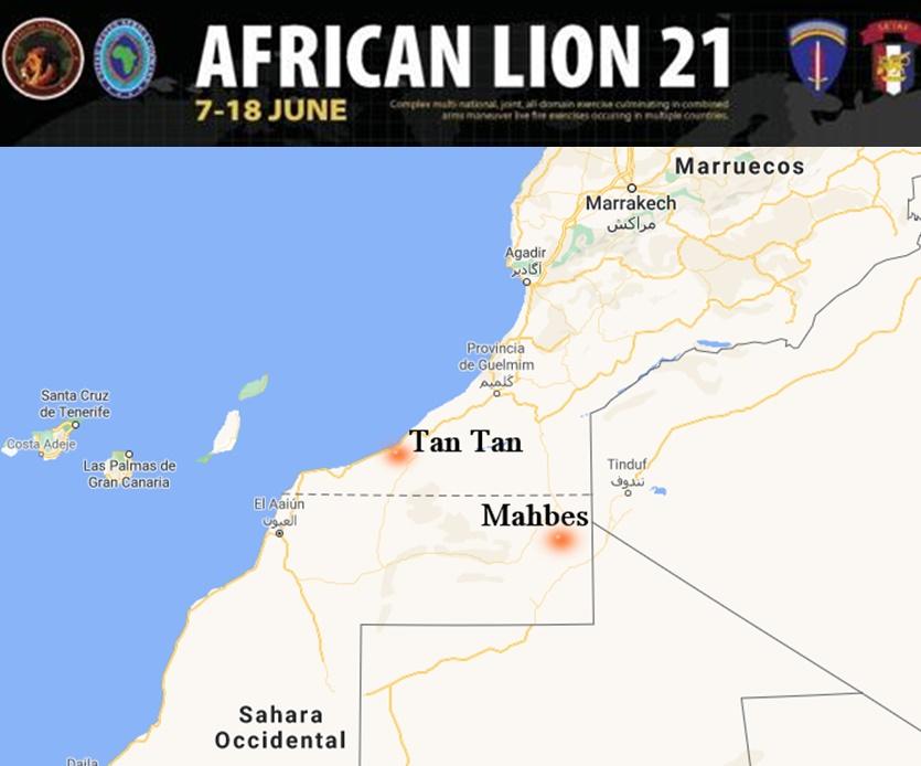 EXCLUSIVA ECS | Estados Unidos no organizará en el Sáhara Occidental ejercicios militares con Marruecos en las #AfricanLion21