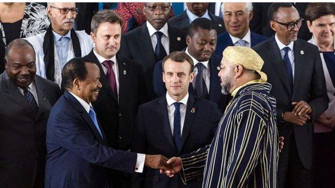 Cuando Brahim Gali y Mohamed VI compartieron foto de jefes de Estado y de Gobierno   Contramutis