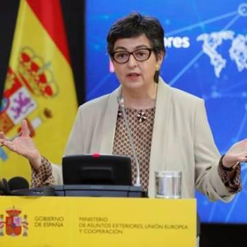 La Ministra de Exteriores afirma que Ghali se marchará de España una vez concluya el tratamiento