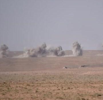El ejército saharaui bombardea con obuses objetivos marroquíes en Mahbes