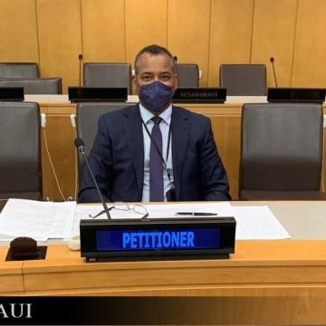 Declaración del representante del Frente POLISARIO en Nueva York ante el Comité de Descolonización de la ONU