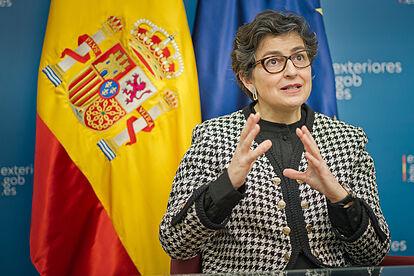 González Laya asegura que España está dispuesta a escuchar a Marruecos sobre el Sáhara Occidental pero en el marco de Naciones Unidas