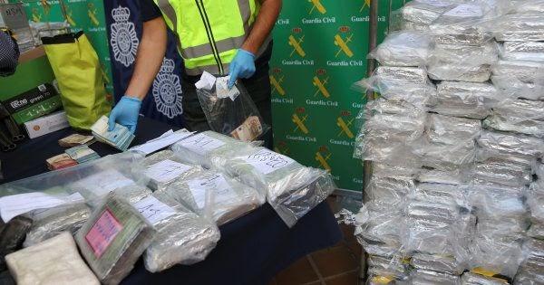La ONU señala a España como el país que más toneladas de droga marroquí decomisa al año