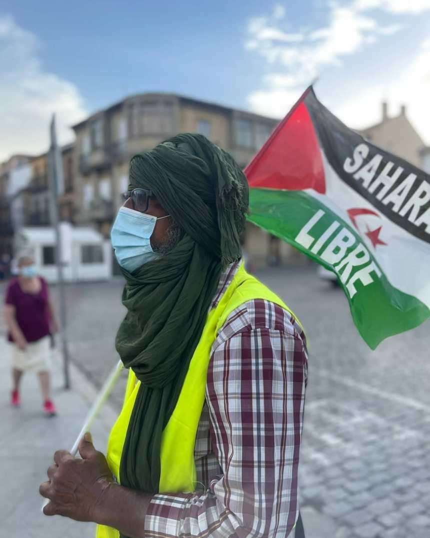 Una gran marcha por la libertad del pueblo saharaui recorrió toda España a pie para llegar mañana viernes a Madrid