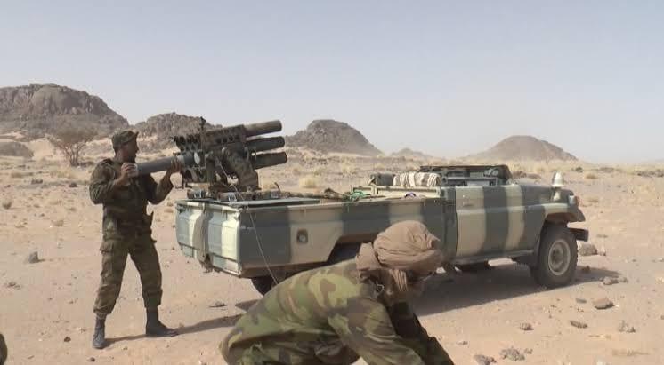 GUERRA EN EL SAHARA | Parte de Guerra Nº219