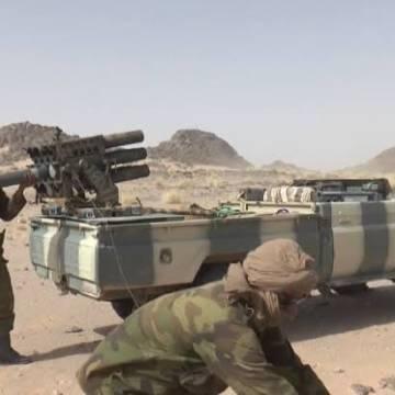 GUERRA EN EL SAHARA   Parte de Guerra Nº219
