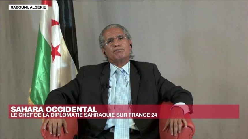 L'Entretien – Mohamed Salem Ould Salek, chef de la diplomatie sahraouie : «Il y a une guerre avec le Maroc» – France 24