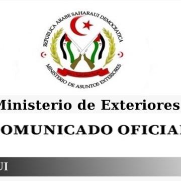 La RASD, ante el comunicado del Ministerio de Exteriores marroquí, afirma que ha llegado el momento de que Marruecos ponga fin a su ocupación ilegal y agresión bárbara contra el pueblo saharaui, como única forma de alcanzar la estabilidad y la seguridad en el noroeste de África