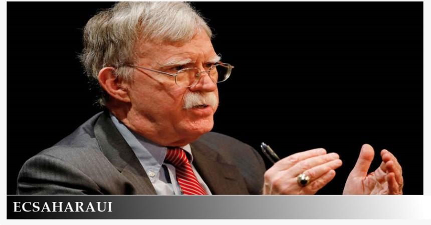 Bolton defiende la celebración de un referéndum de autodeterminación en el Sáhara Occidental