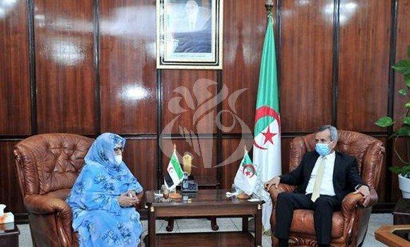 La Ministra de Salud se reúne con su homólogo argelino para abordar las vías de colaboración | Sahara Press Service