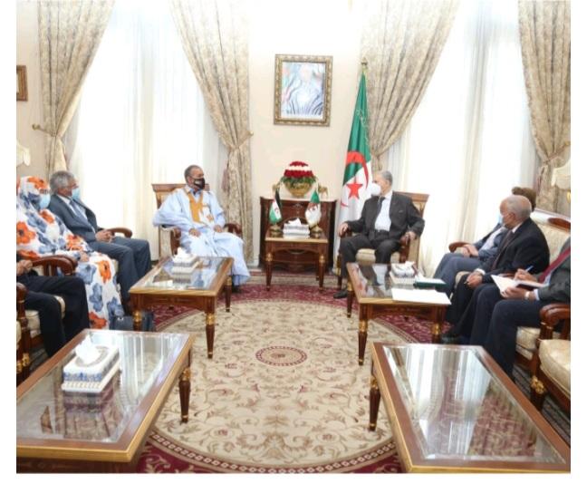 Recibe el Presidente del Consejo de la Nación de Argelia a una delegación del parlamento saharaui | Sahara Press Service