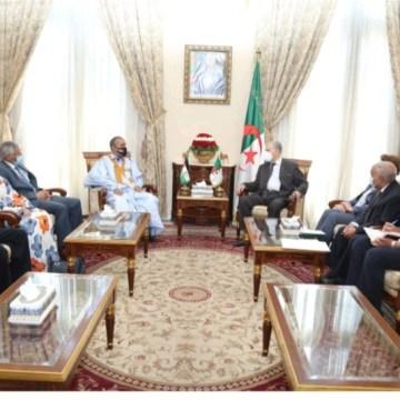 Recibe el Presidente del Consejo de la Nación de Argelia a una delegación del parlamento saharaui   Sahara Press Service