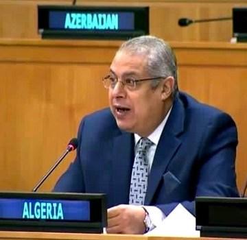 """Argelia: """"Ningún hecho consumado o cambio demográfico puede afectar el estatus legal del Sáhara Occidental""""   Sahara Press Service"""