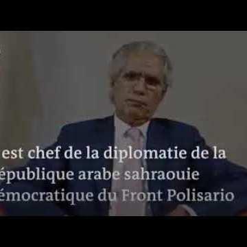 """Canciller saharaui: """"El Consejo de Seguridad debe asumir sus responsabilidades en el Sáhara Occidental"""""""