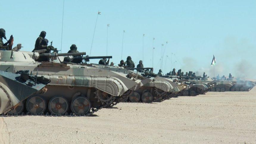GUERRA EN EL SAHARA   Parte de Guerra Nº235