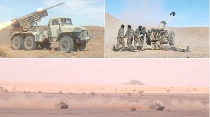 GUERRA EN EL SAHARA | Parte de Guerra Nº240