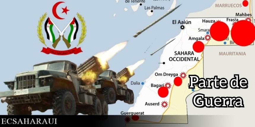 GUERRA DEL SAHARA | Parte de Guerra Nº232